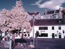 Filtre de la rue IR d'Inverness Ecosse Images libres de droits
