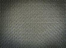Filtre en aluminium, surface métallique Image stock