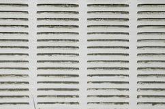 Filtre sale de climatiseur/appareil de chauffage Photos libres de droits