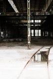 Filtrerat Abandoned vandaliserat industriellt fördärvar inom Fotografering för Bildbyråer