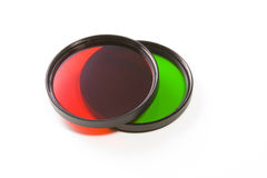 Filtres colorés Photographie stock