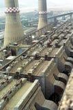 Filtri dalla centrale elettrica Immagine Stock