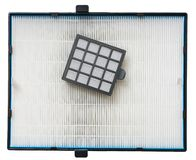 Filtri dalla polvere di alta efficienza per il purifuer dell'aria Fotografie Stock Libere da Diritti