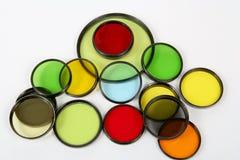 Filtri ottici Fotografie Stock Libere da Diritti