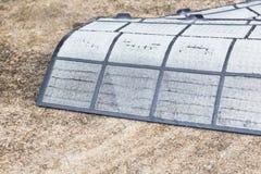 Filtri sporchi dalla polvere del condizionatore d'aria pronti per pulire Immagini Stock Libere da Diritti