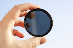 Filtro óptico Fotos de archivo libres de regalías