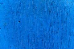Filtro azul - textura de madeira natural realística para o fundo Fotos de Stock Royalty Free
