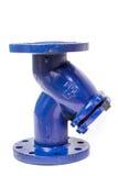 Filtro da acqua con le flange Fotografia Stock