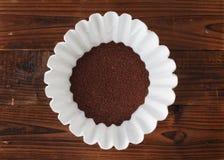 Filtro da caffè immagine stock