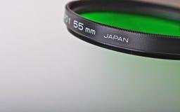 Filtro da lente Fotografia de Stock
