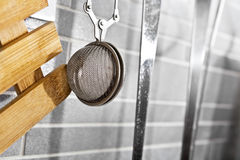 Filtro dal tè della cucina Fotografie Stock Libere da Diritti