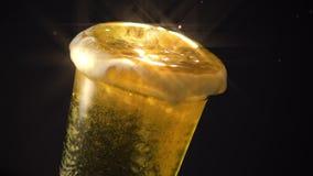 Filtro dalla stella della spruzzata di goccia di Yagerbomb video d archivio