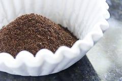 Filtro das terras de café Fotografia de Stock Royalty Free