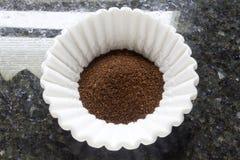 Filtro das terras de café Imagem de Stock Royalty Free