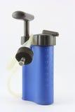 Filtro de agua portable Imágenes de archivo libres de regalías
