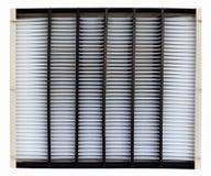 Filtro de aire Fotos de archivo libres de regalías