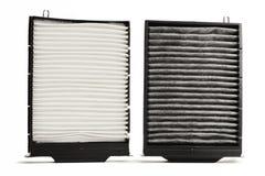 Filtro de aire de la cabina imagen de archivo