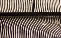 Filtro de aire sucio Imagen de archivo libre de regalías