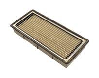 Filtro de aire sucio Fotos de archivo libres de regalías