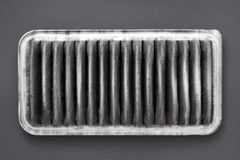 Filtro de aire sucio Fotografía de archivo libre de regalías