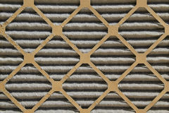 Filtro de ar sujo Imagens de Stock Royalty Free