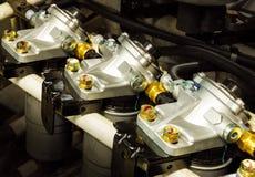 Filtro de combustible Fotos de archivo