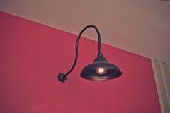 Filtro de la oscuridad de la lámpara del vintage Foto de archivo