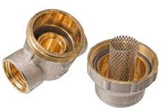 Filtro de la purificación del agua para el abastecimiento de agua Imagen de archivo libre de regalías