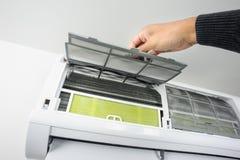 Filtro del acondicionador de aire fotografía de archivo libre de regalías