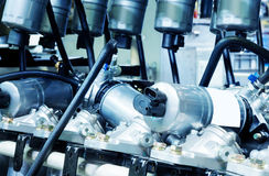Filtro del carburante Immagine Stock
