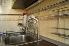 Filtro del fregadero de cocina Imagen de archivo libre de regalías
