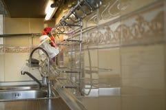 Filtro del fregadero de cocina Foto de archivo libre de regalías