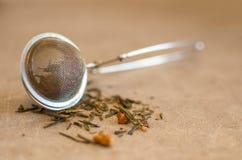 Filtro del tè Immagini Stock