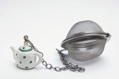 Filtro del té Imagenes de archivo