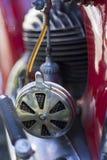 Filtro dell'aria del motociclo dell'annata Fotografie Stock Libere da Diritti