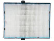 Filtro dell'aria di alta efficienza per il sistema di HVAC Su bianco Fotografia Stock