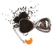 Filtro do chá no branco Imagem de Stock
