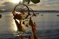 Filtro dos sonhos no por do sol Stock Photo