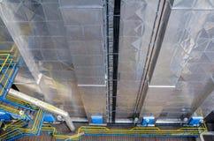 Filtro elettrostatico industriale Fotografia Stock Libera da Diritti