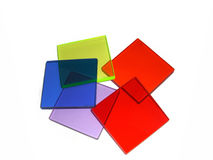 Filtros coloreados Fotografía de archivo libre de regalías