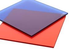 Filtros cuadrados foto de archivo