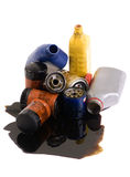 Filtros de aceite Imágenes de archivo libres de regalías