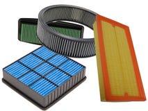 Filtros de aire Imágenes de archivo libres de regalías