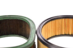 Filtros de aire Imagen de archivo libre de regalías
