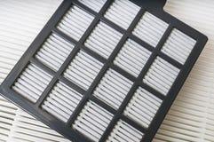 Filtros de condicionamiento de la filtración del aire Imágenes de archivo libres de regalías