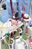 Filtros plásticos en puente cardiopulmonar. Imagen de archivo libre de regalías