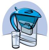 filtrowa woda Zdjęcia Stock