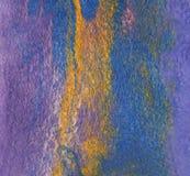 Filz der Wolle und der Seidenfasern gemacht durch nassen Filzstoff Simulation von Stockfotografie