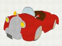 Filz-Karikatur-Buggy Stockfotos