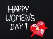 Filzhintergrund für den Tag der Frauen Lizenzfreies Stockbild